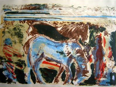 Horses by Diana Aitchison