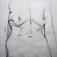 Untitled - Nude1 by Anthony Peter Tewfik